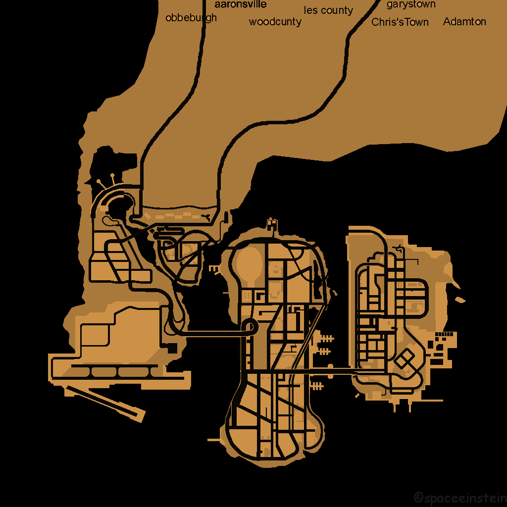 Map of Liberty City